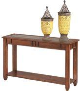 Progressive Mission Hills Brown Cherry Sofa Table