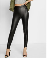 Express zip moto scuba legging
