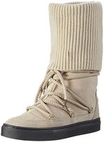 Fornarina Women's ANDROMEDA Long Boots Beige Size: 5.5-6