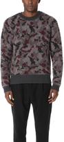 Robert Geller Bounce Camo Sweater