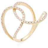 Amrapali 18K Yellow Gold & 0.45 Total Ct. Diamond Contemporary Ring