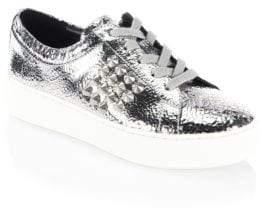 Michael Kors Valin Leather Sneakers