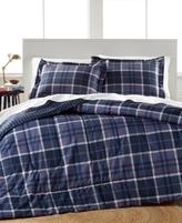 Jessica Sanders Graham Plaid 3 Piece Full/Queen Comforter Set