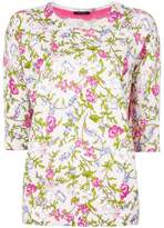 Twin-Set floral print jumper