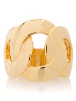 Gold-tone Circle Ring Size 7