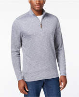 Tasso Elba Men's Quarter Zip-Up Pullover, Created for Macy's