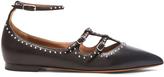Givenchy Piper Elegant Stud Leather Ballerina Flats