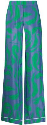 Off-White Illusion pajama-style trousers
