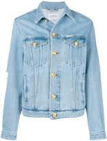 Forte Dei Marmi Couture button-embellished denim jacket