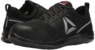 Reebok Work Zprint Work (Black/Dark Grey) Men's Shoes
