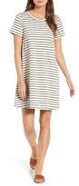 Madewell Women's Retreat Stripe Cotton Shift Dress