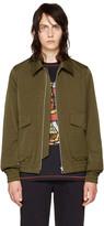 Paul Smith Khaki Flight Jacket