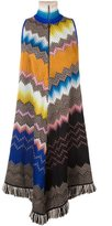 Missoni chevron knit dress - women - Silk/Nylon/Polyester/Wool - 40