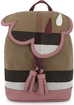 Burberry House Check Mini Canvas Backpack