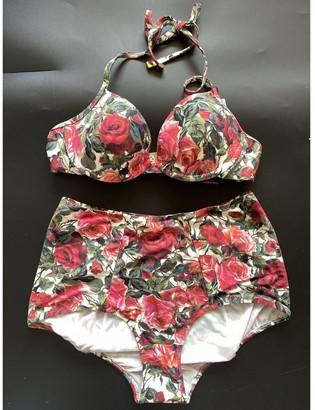 Dolce & Gabbana Red Swimwear for Women