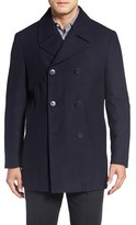 Nordstrom Men's Classic Wool Blend Peacoat