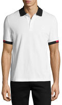 Fred Perry x Raf Simons Polo Shirt with Contrast Tipping