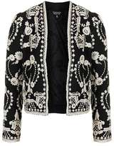 Topshop Lace embroidered jacket