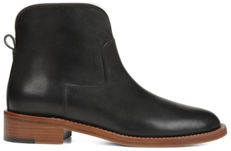 Via Spiga Baxter Leather Ankle Boots