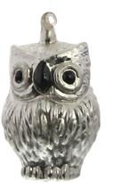 HomArt Large Snow Owl Glass Ornament