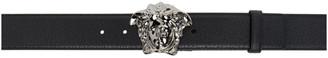 Versace Black Medusa Palazzo Belt