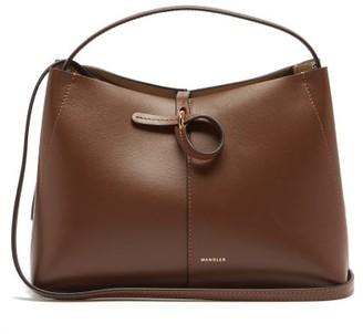 Wandler Ava Mini Leather Cross-body Bag - Brown