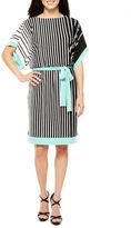 Studio 1 Short Sleeve Blouson Dress