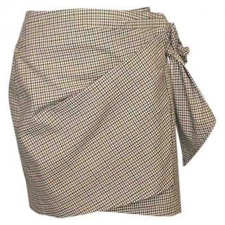 Etoile Isabel Marant Beige Cotton - elasthane Skirt for Women