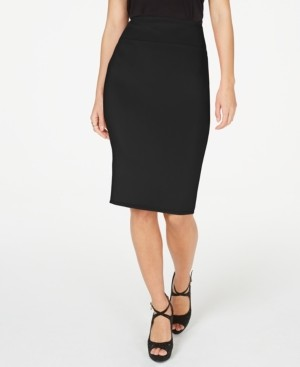 Thalia Sodi Zipper Printed Scuba Skirt, Created for Macy's