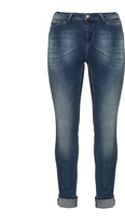 Junarose Plus Size Slim fit light wash jeans