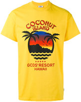 Gcds - Coconut Island T-shirt - men - Cotton - XS