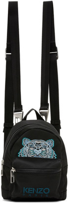 Kenzo Black Mini Kampus Backpack