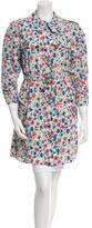 Dolce & Gabbana Floral Print Silk Coat w/ Tags