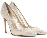 Gianvito Rossi Rania Crystal-embellished Pumps