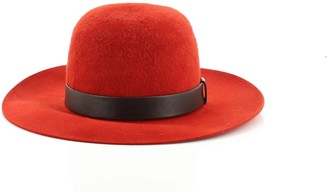 Hermes Farandole Hat Felt with Leather XL