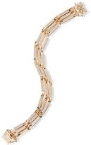 Eddie Borgo Peaked Link Gold-plated Bracelet - one size