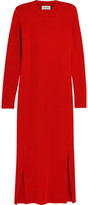 Lemaire Wool Midi Dress - Red
