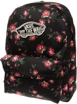 Accessories Vans Black & Red Realm Backpack Bags