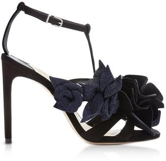 Sophia Webster Black & Midnight Jumbo Lilico Sandals