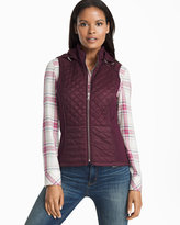 White House Black Market Quilted Vest