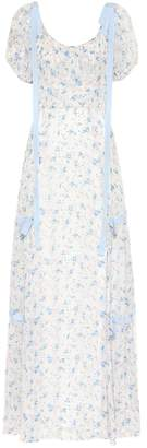 LoveShackFancy Jessie floral silk dress