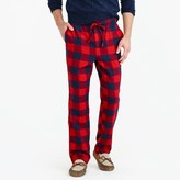 J.Crew Flannel pajama pant in buffalo check