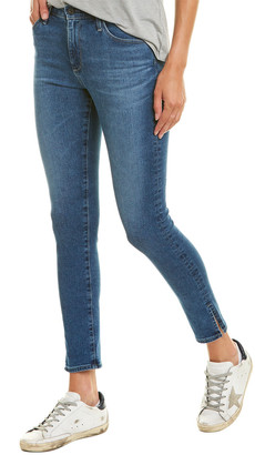 AG Jeans The Farrah Crystal Clarity High-Rise Skinny Ankle Cut