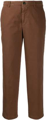 Berwich cropped slim-fit trousers