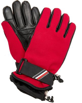 MONCLER GENIUS Lambskin Paneled Ski Gloves