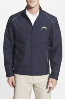 Cutter & Buck 'San Diego Chargers - Beacon' WeatherTec Wind & Water Resistant Jacket (Big & Tall)