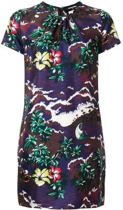 DSQUARED2 short printed dress