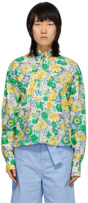 Plan C Multicolor Floral Shirt