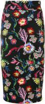 Pinko floral print skirt