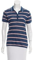 360 Cashmere Striped Linen Top w/ Tags